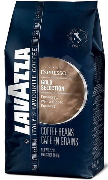 Lavazza Gold Selection, zrnková, 1000g - Káva