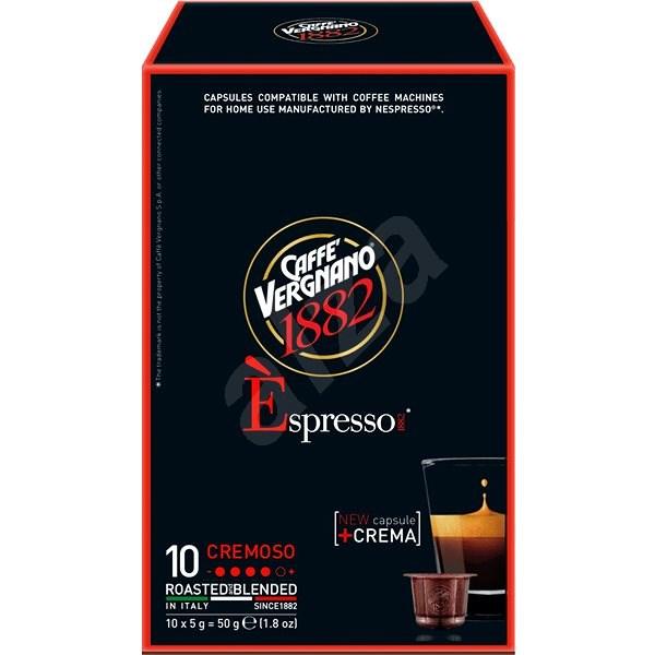 Vergnano Espresso Cremissimo 10ks - Kávové kapsle