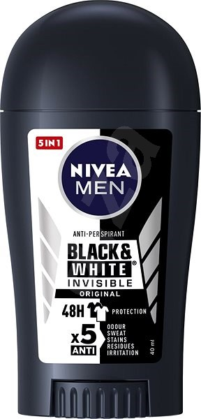 NIVEA MEN Black & White Power 40 ml - Pánský antiperspirant