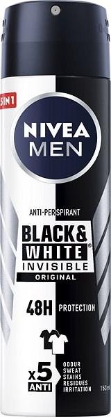 NIVEA MEN Black & White Power 150 ml - Pánský antiperspirant