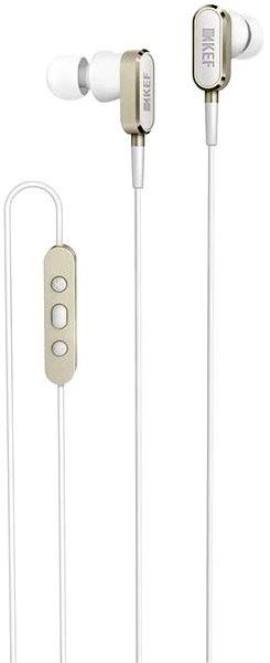 KEF M100 Champagne Gold - Sluchátka do uší