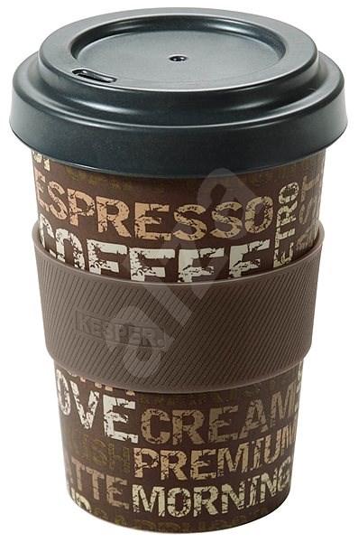 Kesper Kelímek bambusový na kávu 400ml COFFEE TIME - Termohrnek