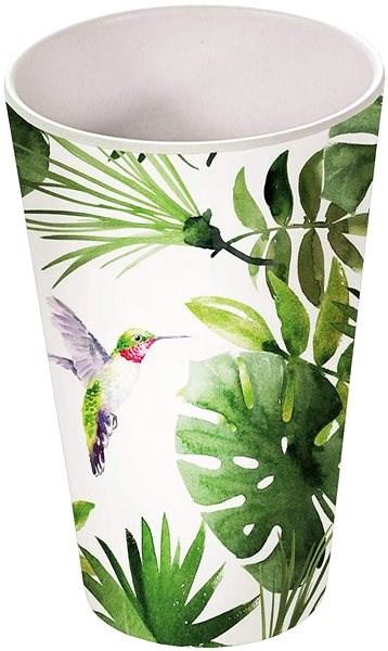 Kesper s dekorem tropických listů, 400 ml - Hrnek