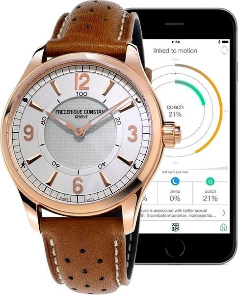 Frederique Constant FC-282AS5B4 - Chytré hodinky