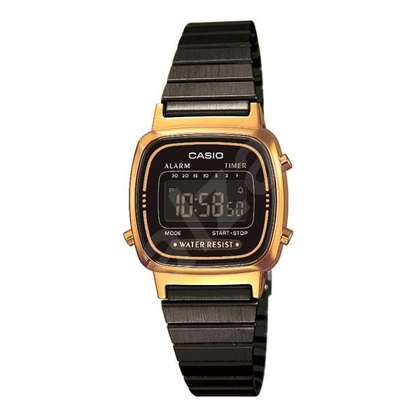 CASIO LA 670WEGB-1B - Dámské hodinky  3e5cd6b713c