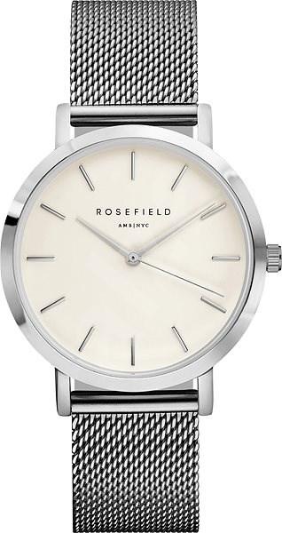 ROSEFIELD The Mercer White Silver  - Dámské hodinky
