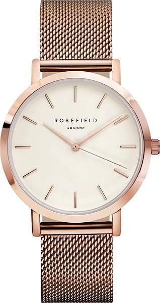 ROSEFIELD The Mercer White RoseGold - Dámské hodinky  6d8fa7fccbe