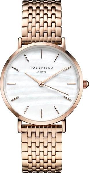f39d08621 ROSEFIELD The Upper East Side White MOP Rosegold - Dámské hodinky ...