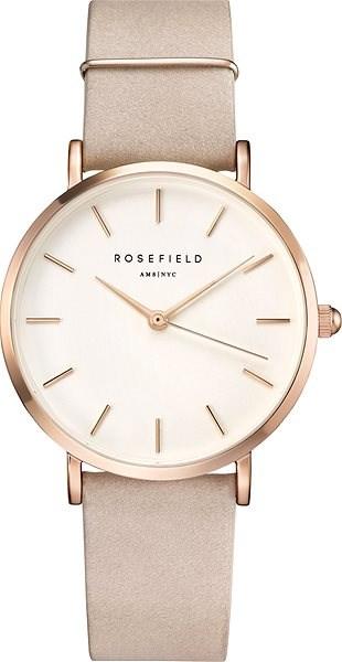 ROSEFIELD The West Village Soft Pink Rosegold - Dámské hodinky