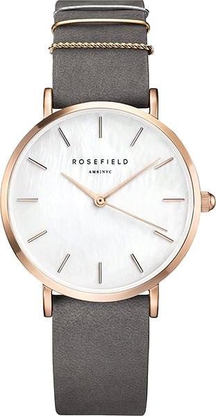 ROSEFIELD The West Village Elephant Grey Rosegold - Dámské hodinky