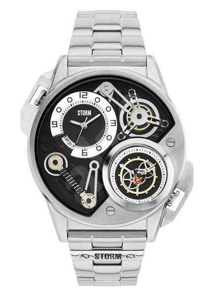 STORM Dualtron Black 47229 Bk - Pánské hodinky  b96a3eb998