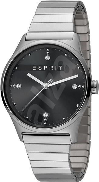1a9774d49 ESPRIT VinRose Black Silver Matt 2390 - Dámské hodinky | Alza.cz