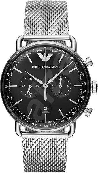 4696adc363 EMPORIO ARMANI AVIATOR AR11104 - Pánské hodinky