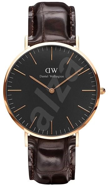 DANIEL WELLINGTON model Classic Black York  DW00100128 - Pánské hodinky