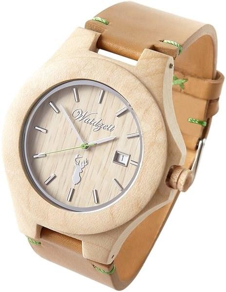 WAIDZEIT Steinbock PREMIUM Leder ST01L - Pánské hodinky