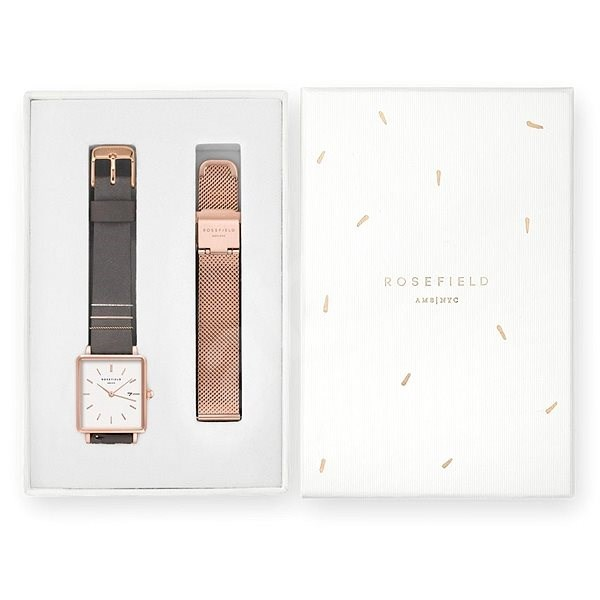 ROSEFIELD Gift Set QEGTR-X222 - Watch Gift Set