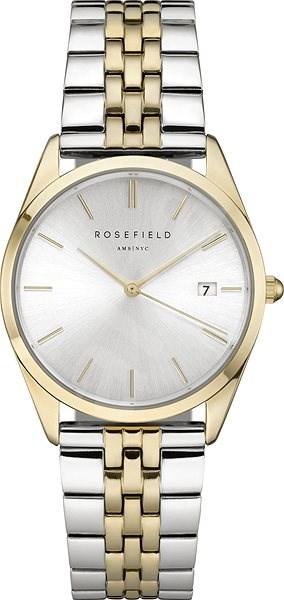ROSEFIELD The Ace Silver Sunray Silver Gold Duo  - Dámské hodinky