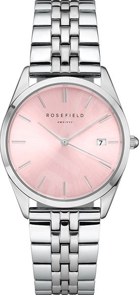 ROSEFIELD The Ace Pink Sunray Silver  - Dámské hodinky