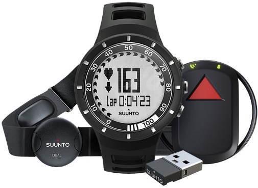 SUUNTO QUEST BLACK GPS PACK - Sporttester