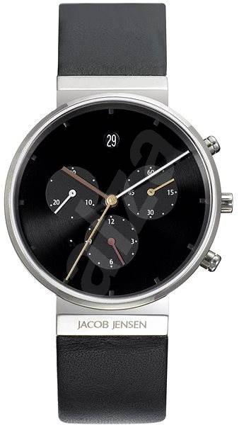 JACOB JENSEN 603 Titanium - Pánské hodinky