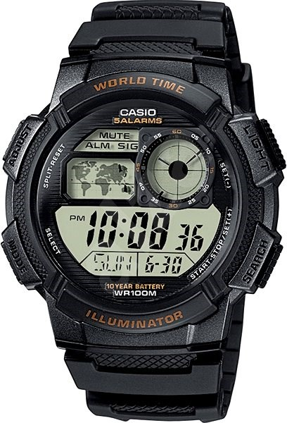 CASIO AE 1000W-1A - Pánské hodinky