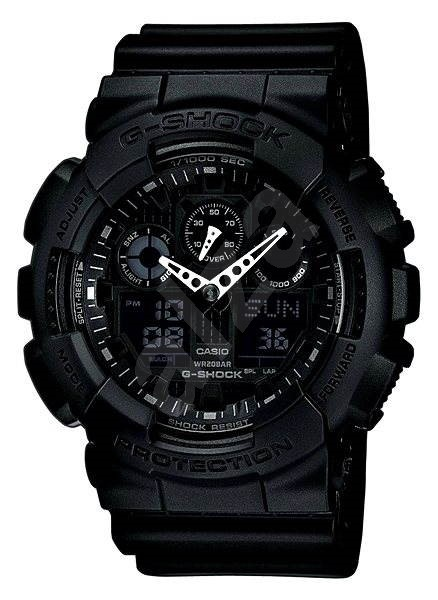 CASIO G-SHOCK GA 100-1A1 - Pánské hodinky  99d272e190e
