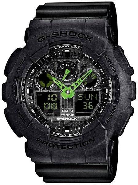 CASIO G-SHOCK GA 100C-1A3 - Pánské hodinky