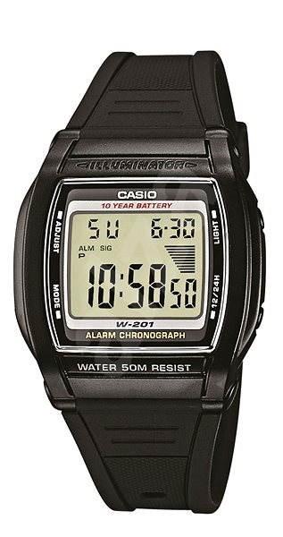 CASIO W 201-1 - Pánské hodinky
