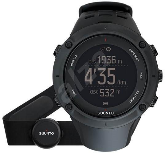 SUUNTO AMBIT3 Peak Black HR - Chytré hodinky