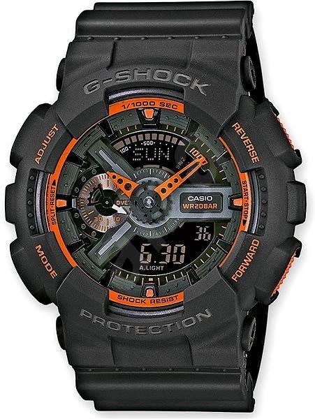 b4c2fe8b986 CASIO G-SHOCK GA 110TS-1A4 - Pánské hodinky