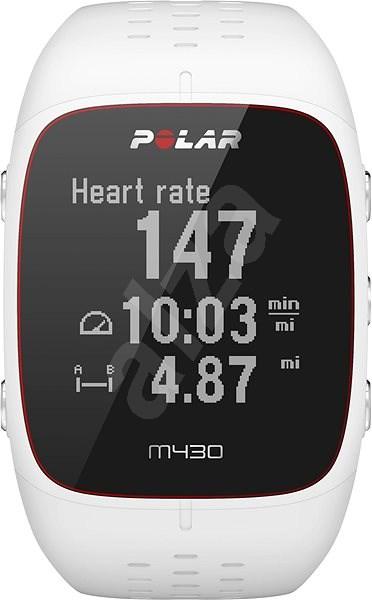 Polar M430 White S - Chytré hodinky