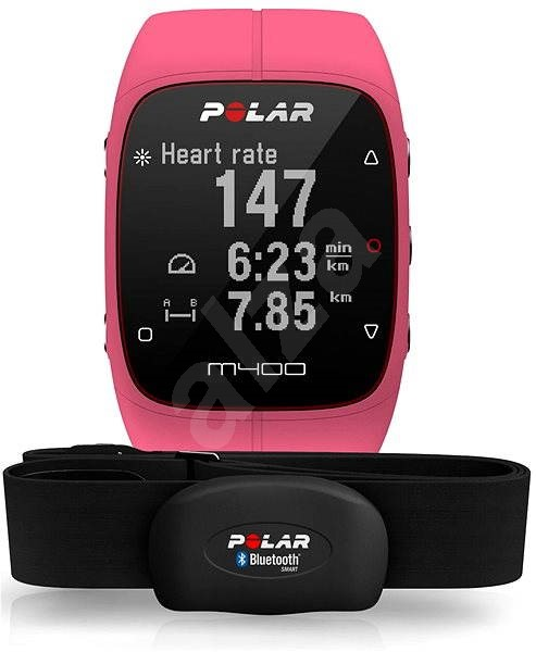 7e3028162 Polar M400 HR Pink - Sporttester   Alza.cz