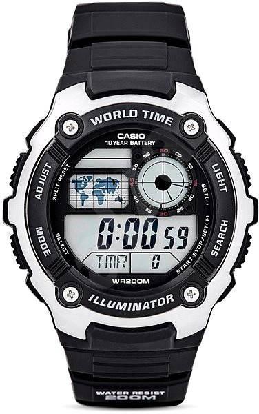 4f728401e6a CASIO AE 2100W-1A - Pánské hodinky