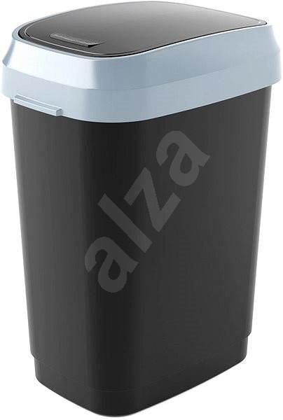 KIS Koš na odpad Dual Swing Bin M - černý 25l - Odpadkový koš