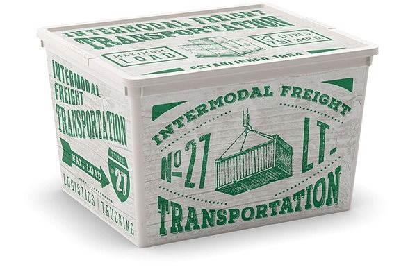 KIS C-Box Wood Cube 27l - Úložný box