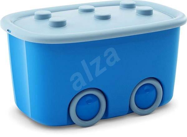 KIS Funny box L modrý 46l - Úložný box