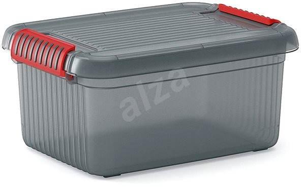 KIS K Latch Box S - šedý 14l - Úložný box