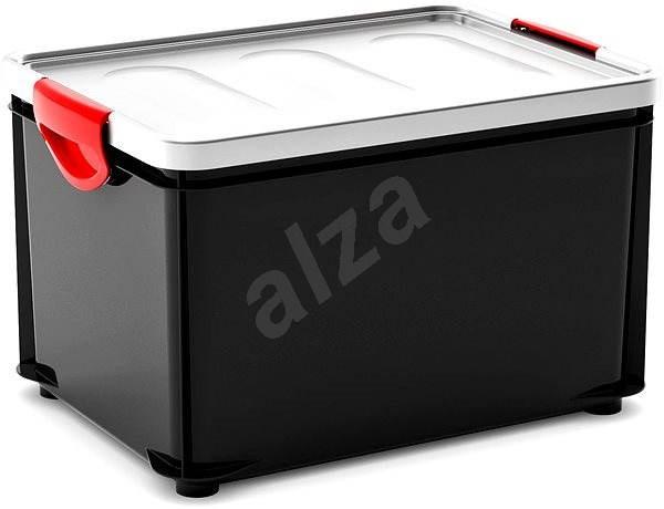 c2fa1550c KIS Clipper Box L černý-šedé víko 33l - Úložný box   Alza.cz