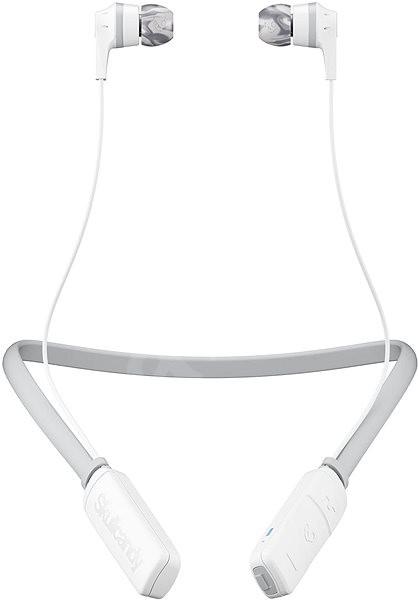 Skullcandy INKD 2.0 Wireless bílá/šedá - Sluchátka s mikrofonem