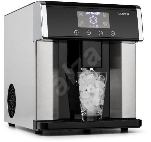 Klarstein Eiszeit Silver - Ice Maker