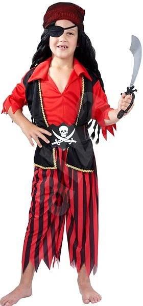 e6d685e13bc4 Kostým Pirát červený vel. M - Dětský kostým
