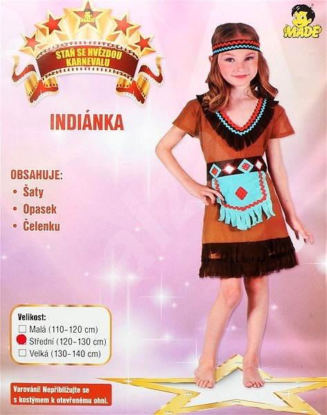 dc59eeb6a13e Šaty na karneval - Indiánka vel. M - Dětský kostým