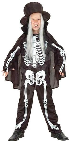 Šaty na karneval - Kostlivec vel. M - Dětský kostým