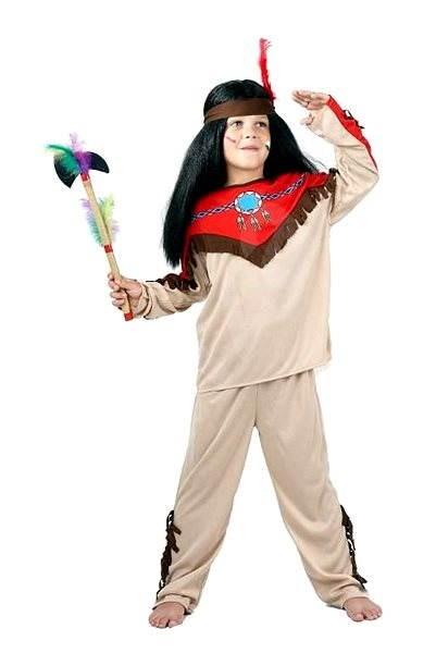 Kostým Indián vel. M - Dětský kostým  651d58ee7c