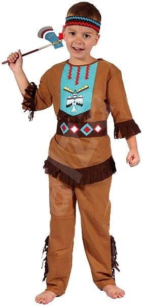 Šaty na karneval - Indián vel. S - Dětský kostým  fae332ccfe