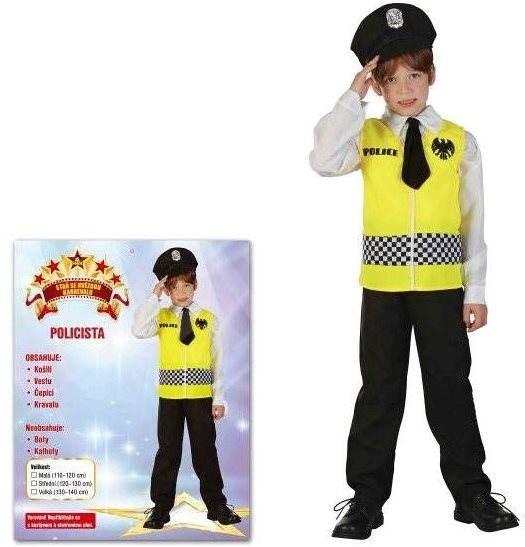 Šaty na karneval - Policie vel. M - Dětský kostým  74a507fbe70