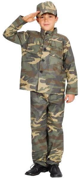 Kostým Voják vel. S - Dětský kostým