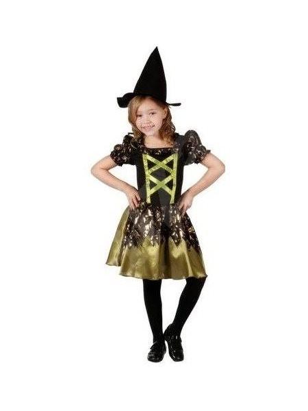 Kostým Čarodějka vel. M - Dětský kostým  81b311de0b