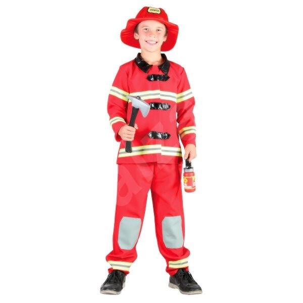 Kostým Požárník vel. M - Dětský kostým  4143cfcbabe