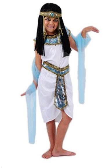 Šaty na karneval - Egyptská královna vel. S - Dětský kostým  efa127952ee